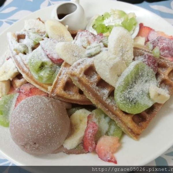 宜蘭縣 美食 餐廳 烘焙 跳格子Hop Grid-鬆餅&飲品專賣店