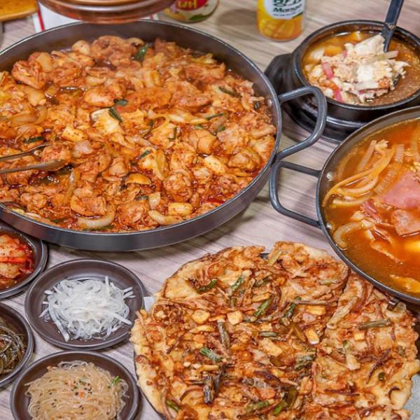 高雄市 美食 餐廳 異國料理 韓式料理 韓屋里-美術館店