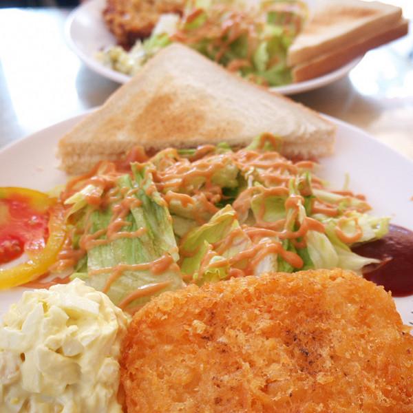 台北市 美食 餐廳 速食 早餐速食店 香草綠活力餐坊