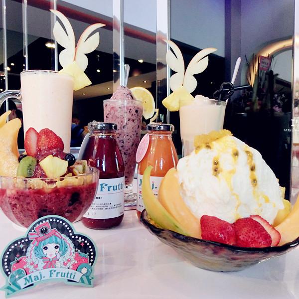 台中市 美食 餐廳 飲料、甜品 Maj.Frutti冰菓藝棧