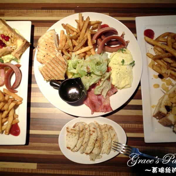 桃園市 美食 餐廳 異國料理 多國料理 豐滿早午餐