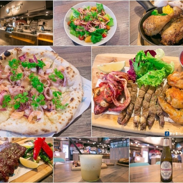 台北市 美食 餐廳 異國料理 義式料理 Pizza CreAfe客意窯烤比薩 (內科西湖店)