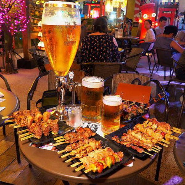 台中市 餐飲 燒烤‧鐵板燒 燒肉燒烤 激旨燒鳥二店