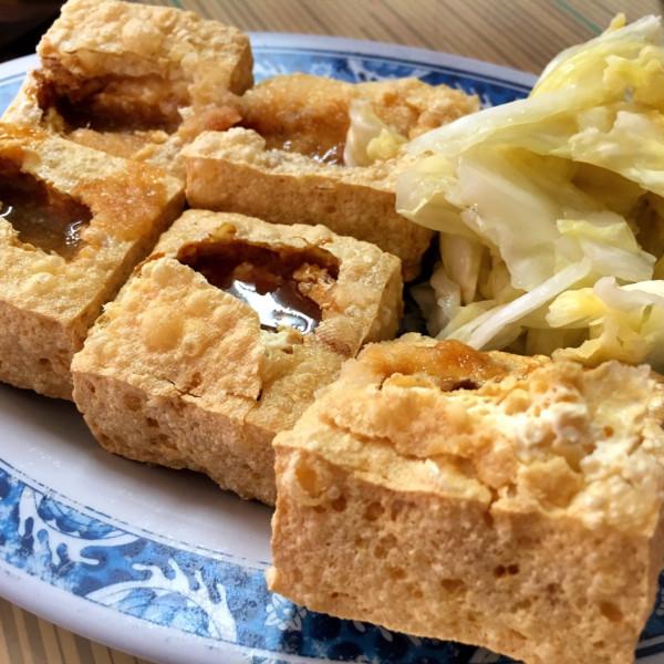 新北市 餐飲 夜市攤販小吃 小光頭港式脆皮臭豆腐