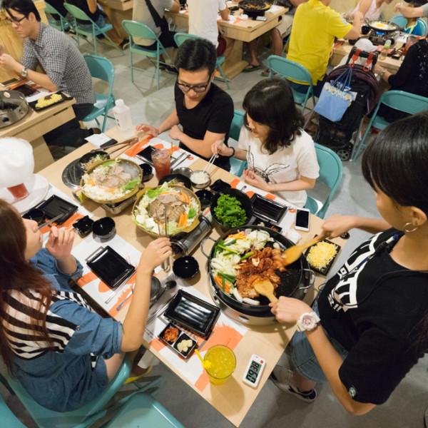 台北市 餐飲 燒烤‧鐵板燒 燒肉燒烤 OMAYA春川炒雞士林中正店