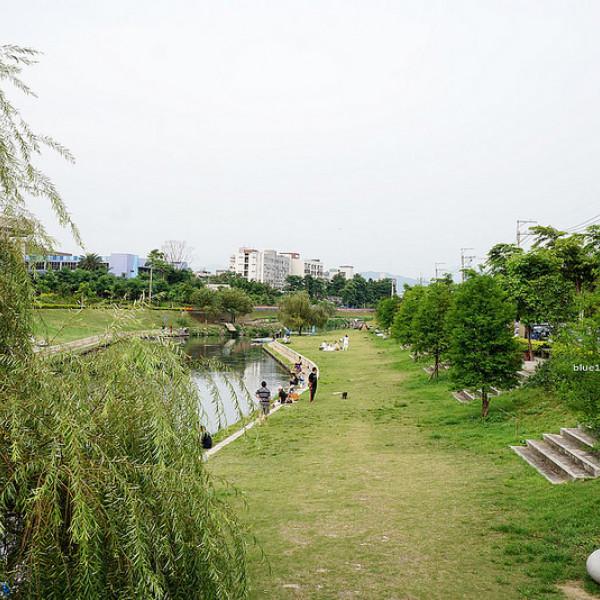 台中市 休閒旅遊 景點 公園 興大康橋水岸公園