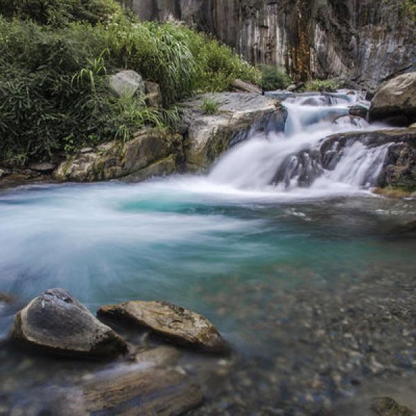 南投縣 觀光 觀光景點 夢谷瀑布