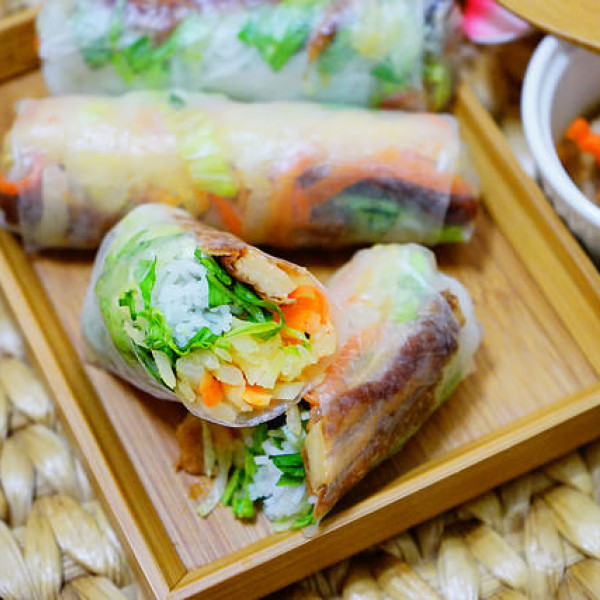 台中市 餐飲 素食料理 素食料理 法喜越式素食坊