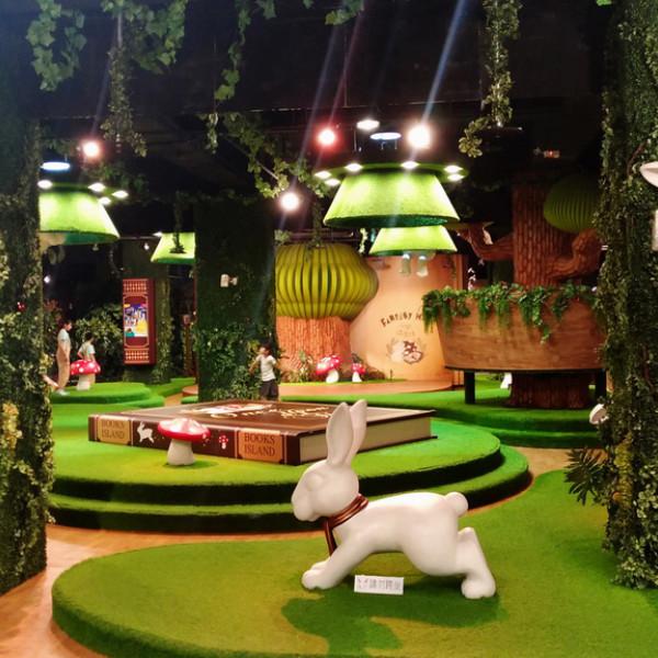 台中市 觀光 動物園‧遊樂園 范特喜玩劇島 Fantasy kids