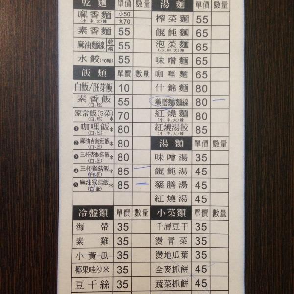 台中市 餐飲 素食料理 素食料理 築緣素食坊