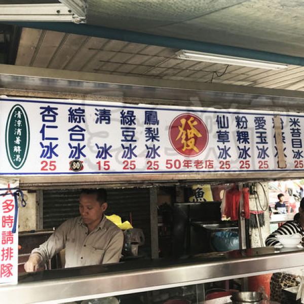 彰化縣 餐飲 飲料‧甜點 冰店 發記粉粿米苔目冰