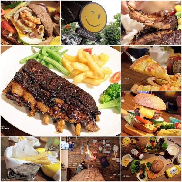 台南市 餐飲 美式料理 微笑先生