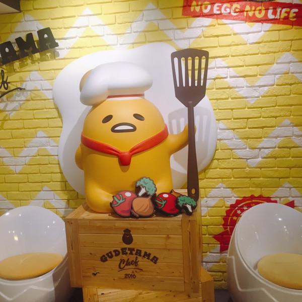 台北市 餐飲 美式料理 Gudetama Chef 蛋黃哥五星主廚餐廳
