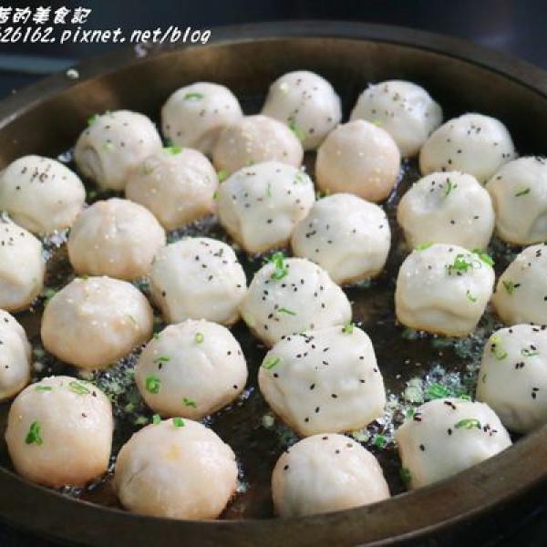 台北市 餐飲 夜市攤販小吃 咬三口上海生煎包