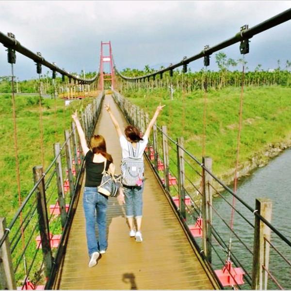 屏東縣 觀光 公園 萬巒吊橋