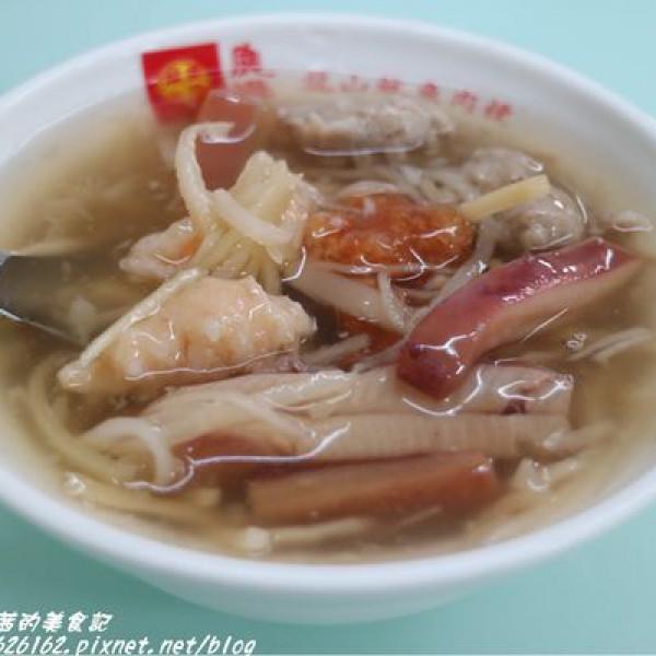 彰化縣 餐飲 夜市攤販小吃 龍山魷魚肉羹