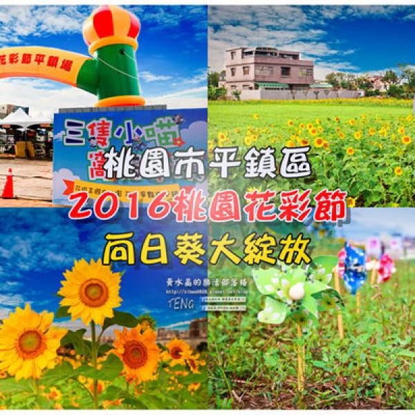 桃園市 觀光 觀光景點 2016桃園花彩節平鎮場 11/26-12/04