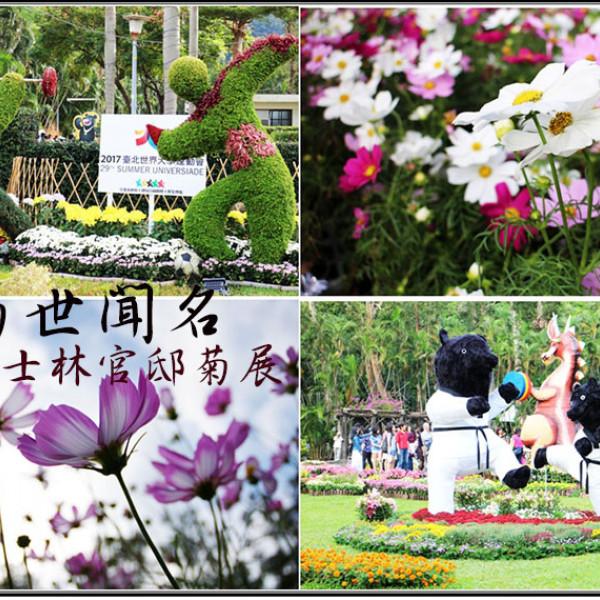 台北市 觀光 博物館‧藝文展覽 2016士林官邸菊展「菊世聞名」