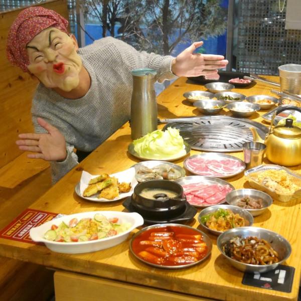 嘉義市 餐飲 韓式料理 五花肉•KR-韓國炭火BBQ