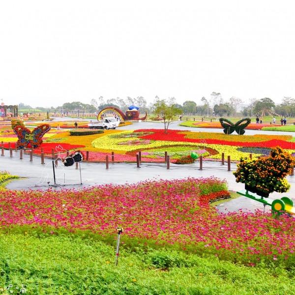台中市 觀光 觀光景點 2016臺中國際花毯節「花現新樂園」