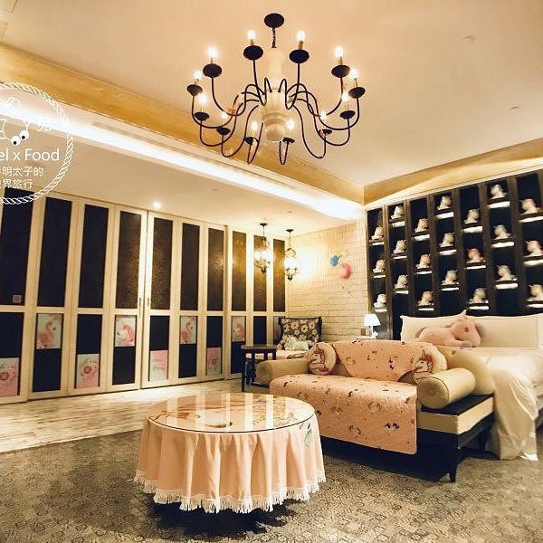 台中市 住宿 汽車旅館 芭蕾城市渡假旅店 VillaBallet(臺中市旅館351號)