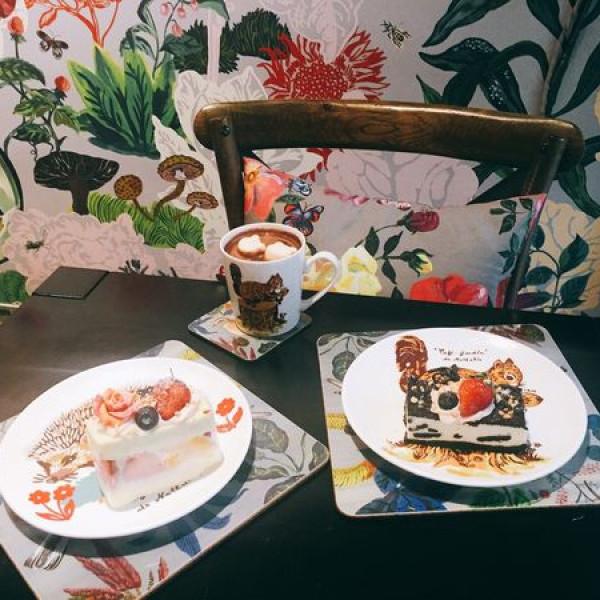 台北市 餐飲 咖啡館 娜塔莉花園咖啡館Nathalie Lete