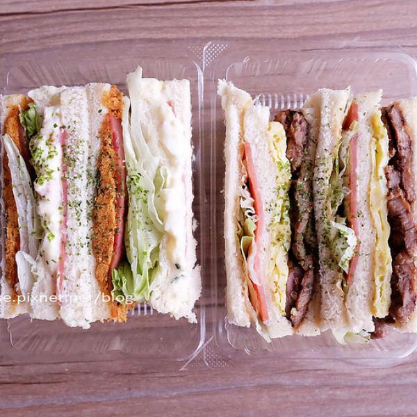 台中市 餐飲 早.午餐、宵夜 西式早餐 胖丁碳烤三明治