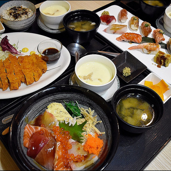 台中市 餐飲 日式料理 壽司‧生魚片 親不知丼飯、壽司