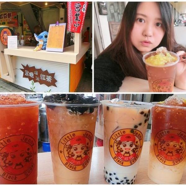 台中市 餐飲 飲料‧甜點 飲料‧手搖飲 小珍妮-黑糖爆冰紅茶