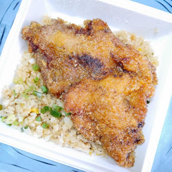 台北市 餐飲 台式料理 7-11椒鹽大雞排炒飯