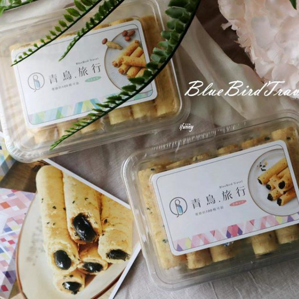 台中市 餐飲 糕點麵包 青鳥旅行肉鬆蛋捲第一品牌