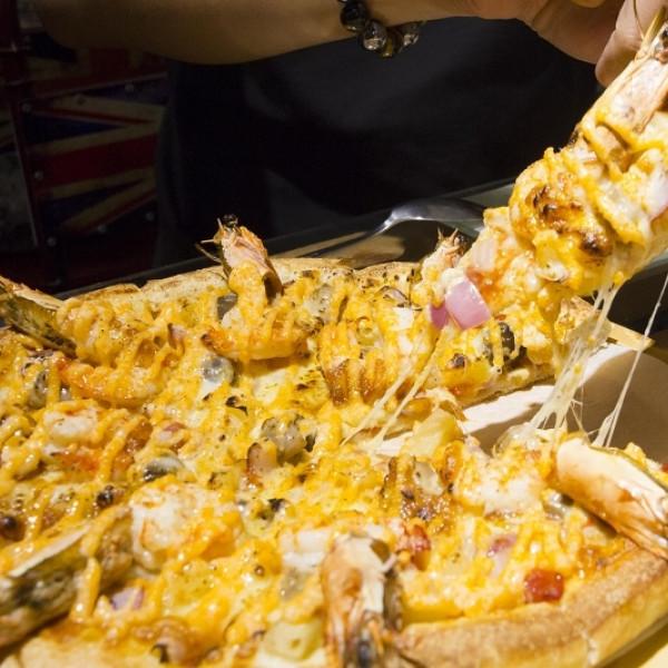台南市 美食 餐廳 速食 披薩速食店 7平方創新PIZZArestaurant