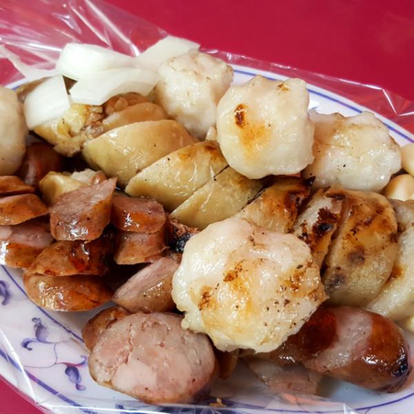 澎湖縣 美食 攤販 台式小吃 阿豹香腸攤