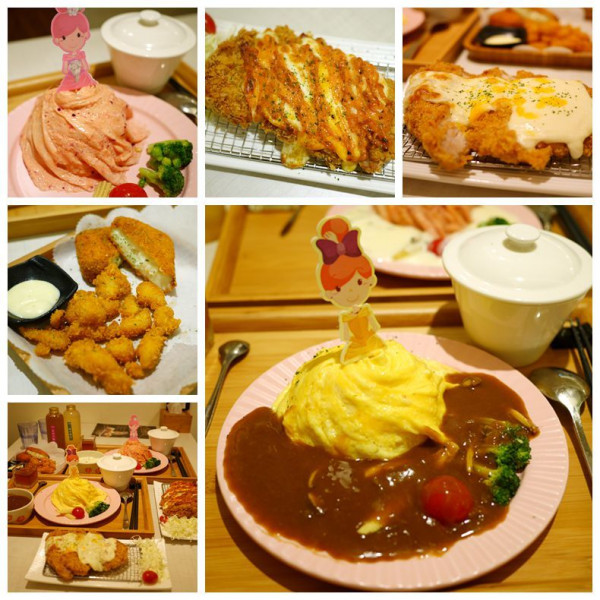 台中市 美食 餐廳 異國料理 日式料理 茉莉公主蛋包飯-崇德店