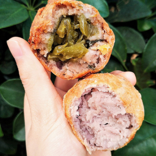 台北市 餐飲 飲料‧甜點 甜點 阿信芋頭丸