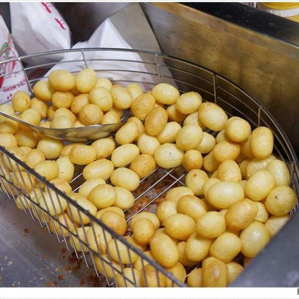 台中市 餐飲 夜市攤販小吃 台中梧棲夜市地瓜球
