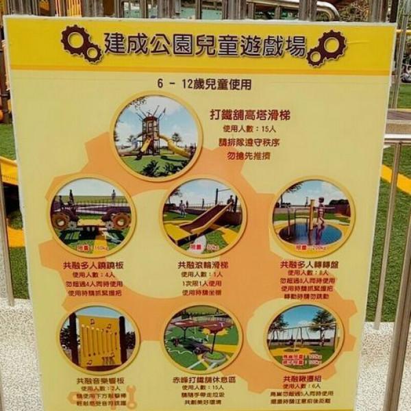 台北市 觀光 公園 建成公園共融式兒童遊戲場