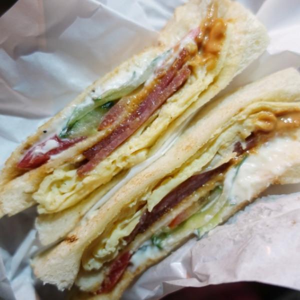 基隆市 餐飲 台式料理 碳烤三明治