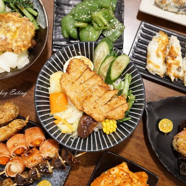台中市 餐飲 素食料理 素食料理 野蔬-蔬食丼飯串燒炸物