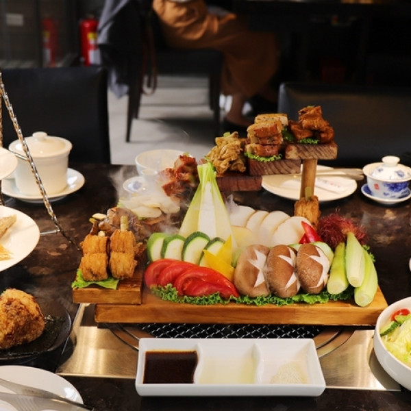 台中市 餐飲 素食料理 素食料理 將進酒-素 燒烤殿Vegetarian BBQ