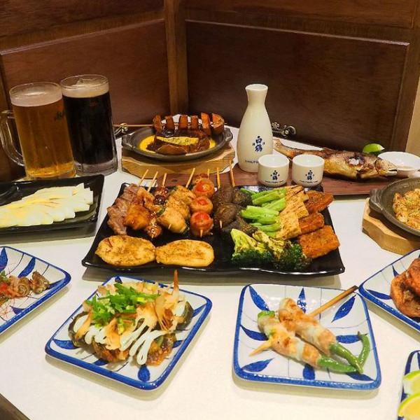 台中市 餐飲 燒烤‧鐵板燒 燒肉燒烤 燒鳥串道-台中向上北店