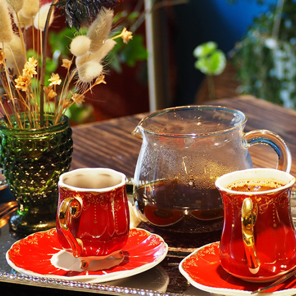 台北市 餐飲 咖啡館 登陸土星Saturn Landing Turkish Coffee