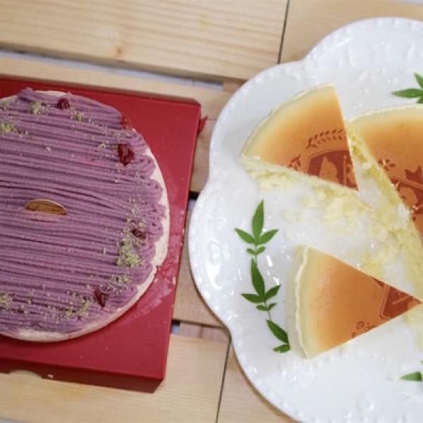 台南市 美食 餐廳 烘焙 蛋糕西點 【彌月蛋糕推薦】台南起士公爵-純粹原味乳酪蛋糕+雪釀香芋乳酪蛋糕。因為愛!所以要選最好的!透過味蕾的悸動,將幸福、安心、美味和健康傳遞給每一位來為小寶貝祝賀的親友!