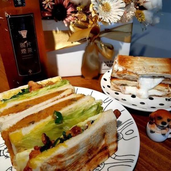 台中市 餐飲 早.午餐、宵夜 西式早餐 翻白眼女孩 炭烤三明治
