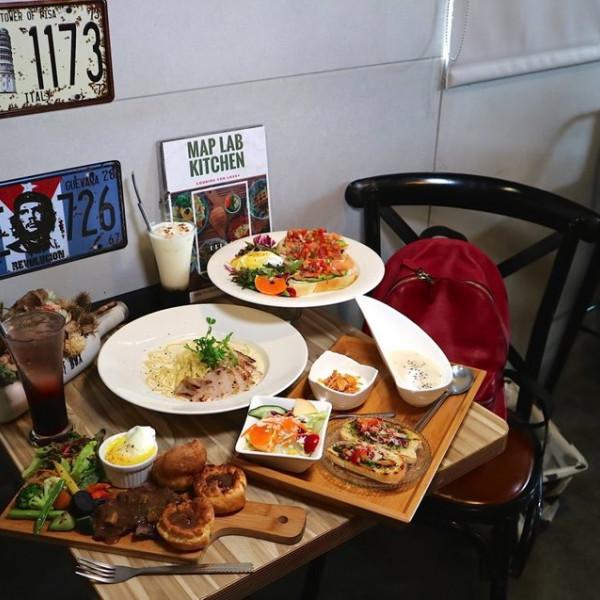 台南市 餐飲 早.午餐、宵夜 早午餐 旅圖 MAP LAB Kitchen 無國界早午餐