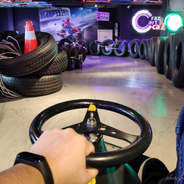 台北市 餐飲 美式料理 Crazy Cart Cafe 卡丁車甩尾主題餐廳