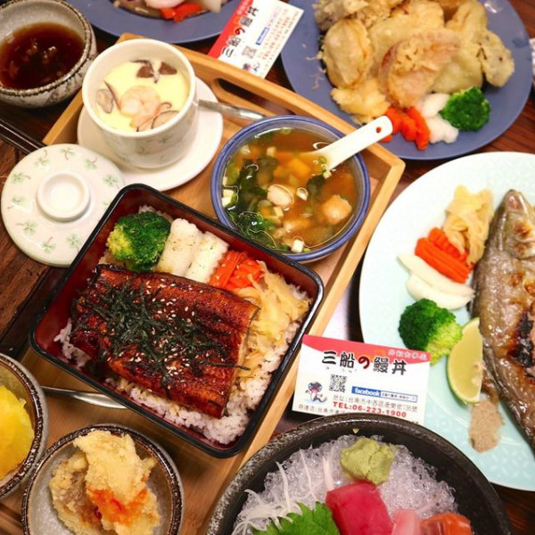 台南市 美食 餐廳 異國料理 日式料理 三船の鰻丼–康樂店