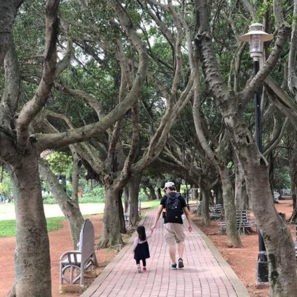新北市 休閒旅遊 景點 公園 永和永福橋兒童遊戲場