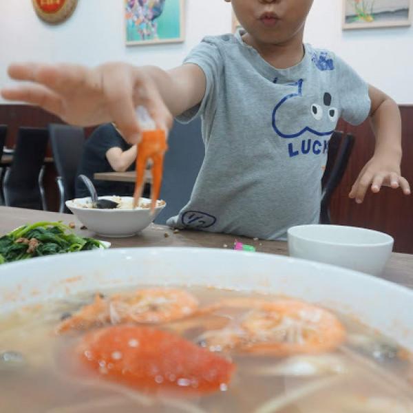 台南市 美食 餐廳 中式料理 上豐富海產粥