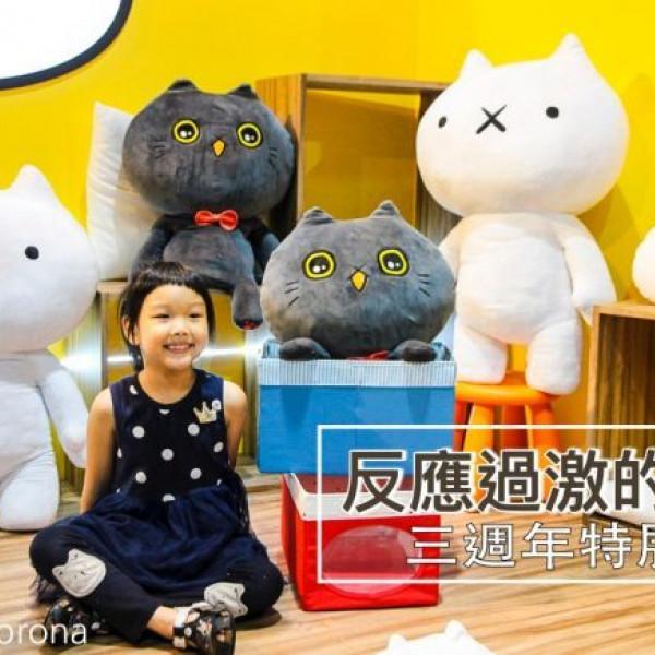 台北市 觀光 博物館‧藝文展覽 反應過激的貓三週年特展